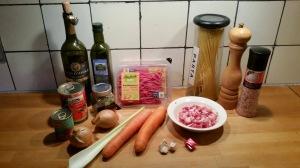 ingredienten spaghetti bolognese