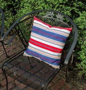 Tuinkussens waterdicht maken, textiel impregneermiddel